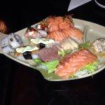 Sushi e sashimi rodízio