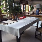 Calligraphy table