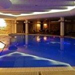 la piscine .....