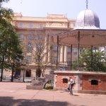 Praça da Liberdade, ao fundo CCBB