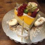 Une idée de ce que vous pouvez manger à notre table d'hôte, et des jus de fruits fait maison pou