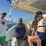 Great day fishing with Captain Steve and Mitch. We caught a lot of fish. The weather was perfect