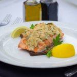 our new Salmon & Crab special