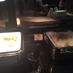 Rich breakfast buffet Japanese and western options and dont miss the tasty juices