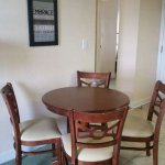 New owners unit 1504. New paint, furniture, carpets, bed, and bedding. Even new furniture on the