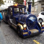 A lovely trip around Brig on this dotto train from outside the hotel