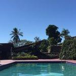 Refreshing pool area