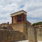 Palast von Knossos Foto