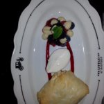 Cheesecake in phyllo.