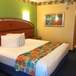 Room 1324 in Surfs Up with king bed and large bathroom