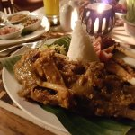 Bebek betutu - slow cooked duck a local specialty & one of my favourites