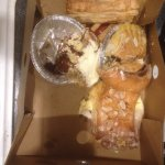 Strudel/cinnamon rolls/almond paste-sorry, that's all I had left when I remembered!