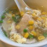 Corn soup - delicious