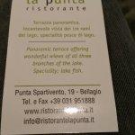 Foto di Ristorante La Punta