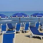 Spiaggia: perfetto ordine