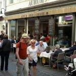 AURUM - eines der vielen italienischen Restaurants in der Goldgasse