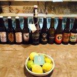 Gran selección de cervezas artesanales