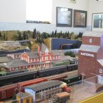Dauphin train museum shows the town's past.