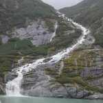 One of the water falls in the Fjord.