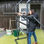 Hotel offered this clay pigeon shooting activity to its guests