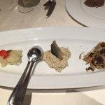Scampi; Fischpastete; Trüffel