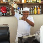 One of the great bartenders - Moeses