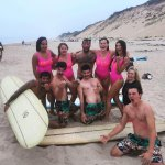 Team Pump House at the 2016 Cape Cod Oldtimers Longboard Classic