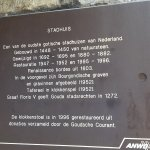 a history about the former city hall ( 'stadhuis')