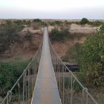 Bridge to Masai Mara National Reserve