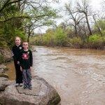 Kids & Stones River