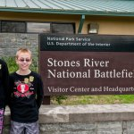 Kids with Jr Ranger Badges