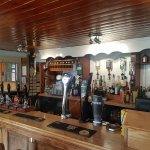 Front of the bar