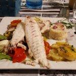 L'excellent poisson grillé