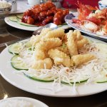 Everyone always like a fried calamari...here's the Chinese version of that!