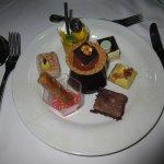 Dessert-Auswahl vom Abendbuffet