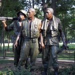 The Three Servicemen, Vietnam Veterans Memorial