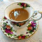 Delicious cup of tea