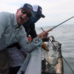 Owner Mark Martin with a 120LB Tarpon and a broken rod!!