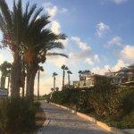 Coastal promenade walk