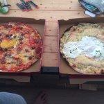 Pizza à emporter très bonne  !