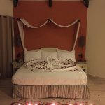 Romantic Package - full bed view