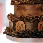 bottom of the cake