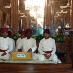Live qawaali session in the evening in Durbar Hall!