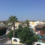 looking onto Seva hotel