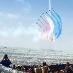 views from Eastbourne Airshow