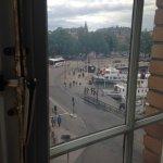 vista desde la habitación triple suite