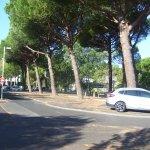 parking public devant la residence