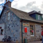 The Kirk's Store (Sweet Shop) and Glenlivet Post Office at the Highland Folk Museum