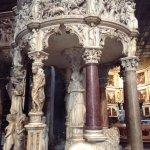 Pulpit detail
