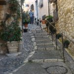 Some of the streets are quite steep